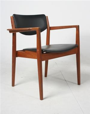 Finn juhl solid teak armchair designed in 1961