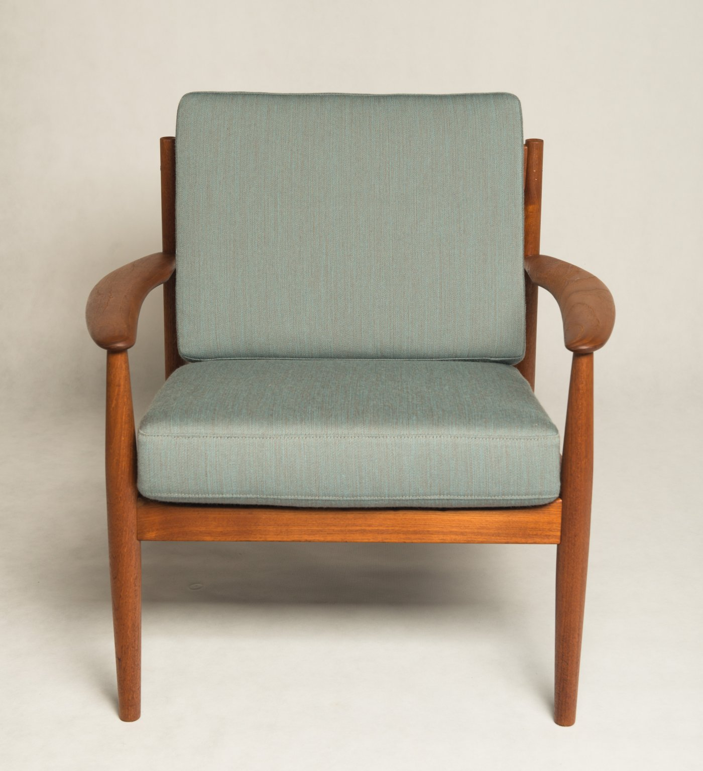 Grete Jalk Teak Armchair Danish Vintage Teak Arm Chair