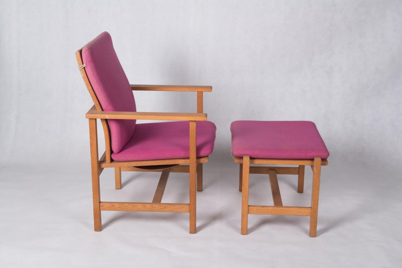 Danish vintage teak pair of easy chairs bo butik danish vintage design