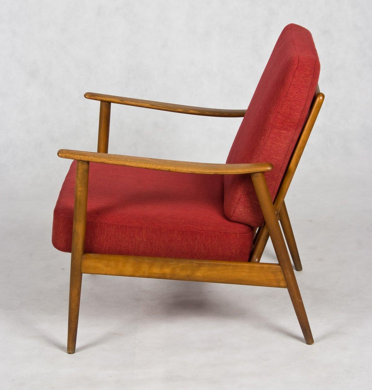 Danish 1960s Teak Armchair
