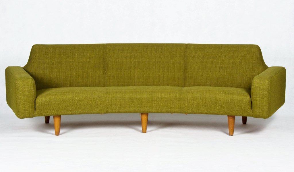 Danish Banana Sofa Danish Designed And Manufactured In The 1950s