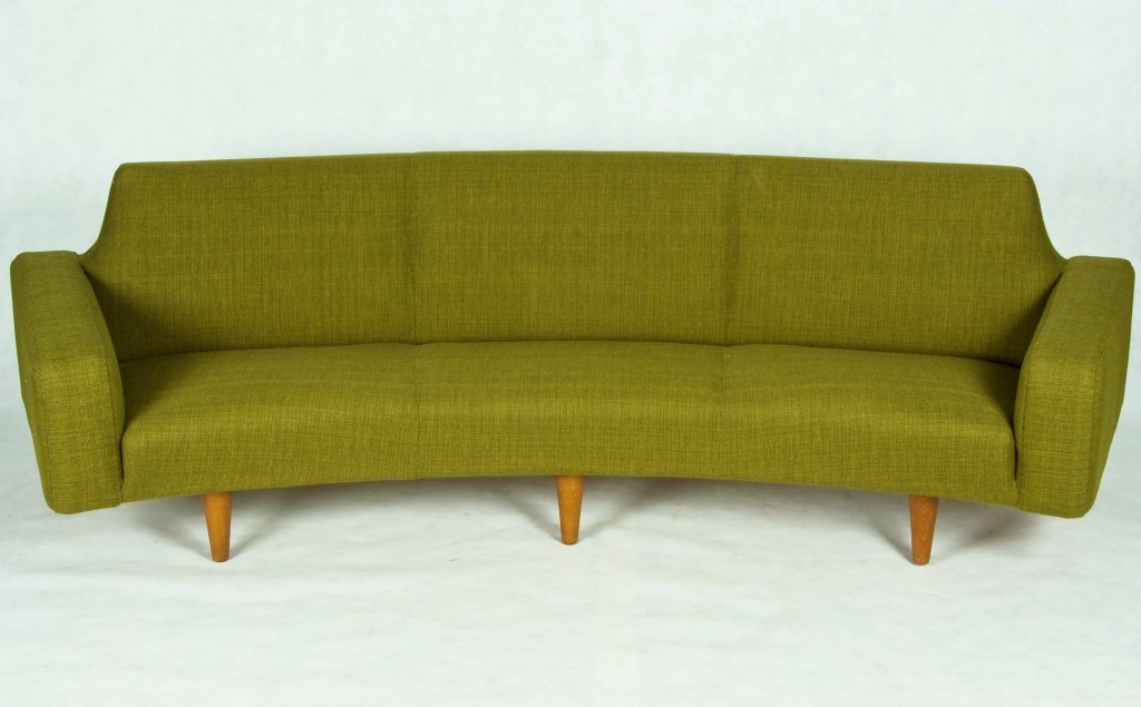 Danish mid-century sofa couch Just Peachy, Darling
