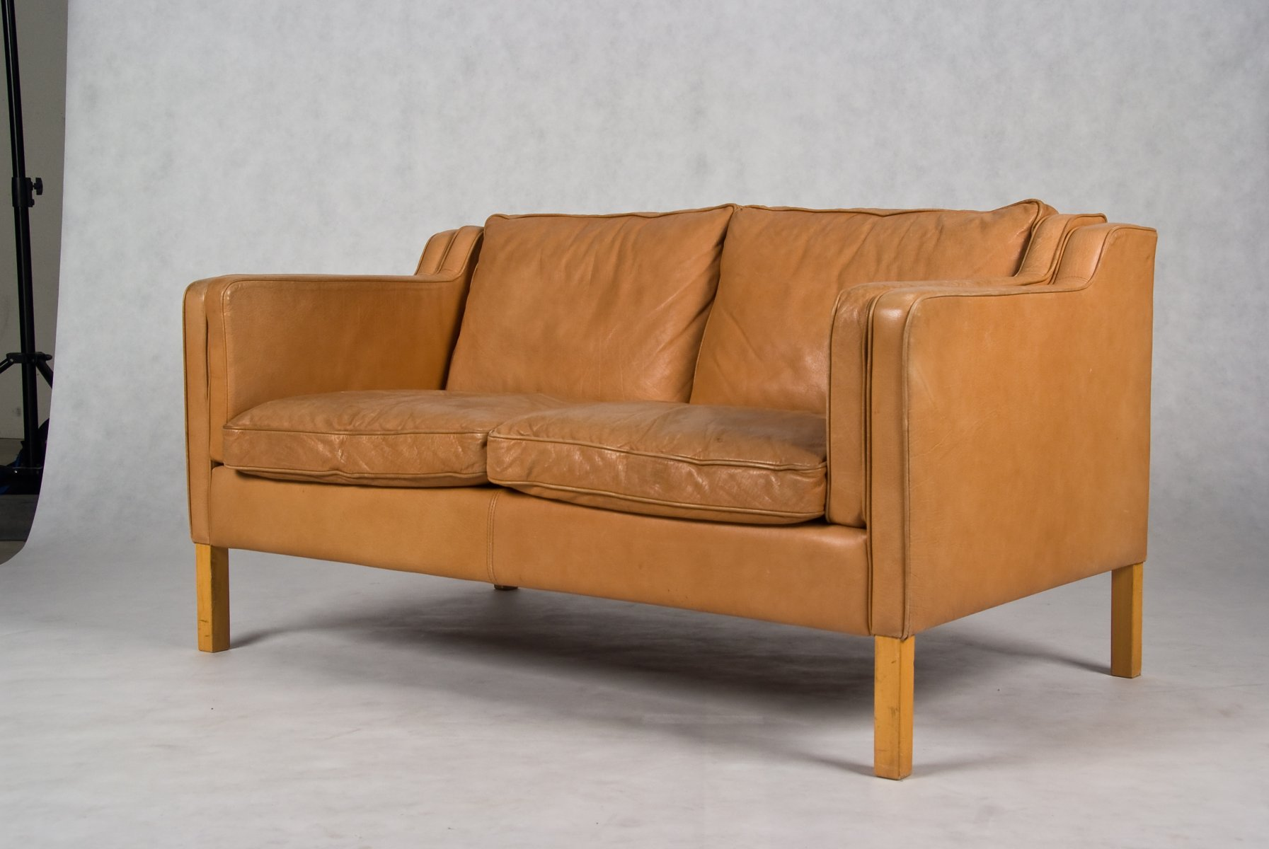 Stouby 2 seater leather sofa for Sofas