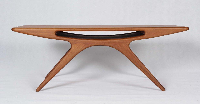 Smiley Table By Johannes Andersen Teak Smiley Coffee Table
